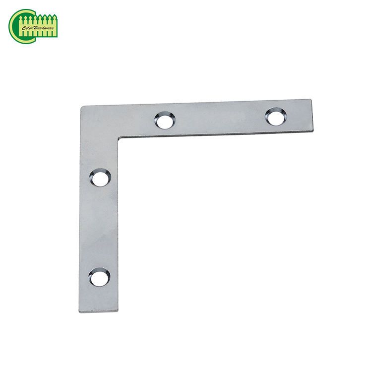 The factory price L shape aluminum small right angle bracket