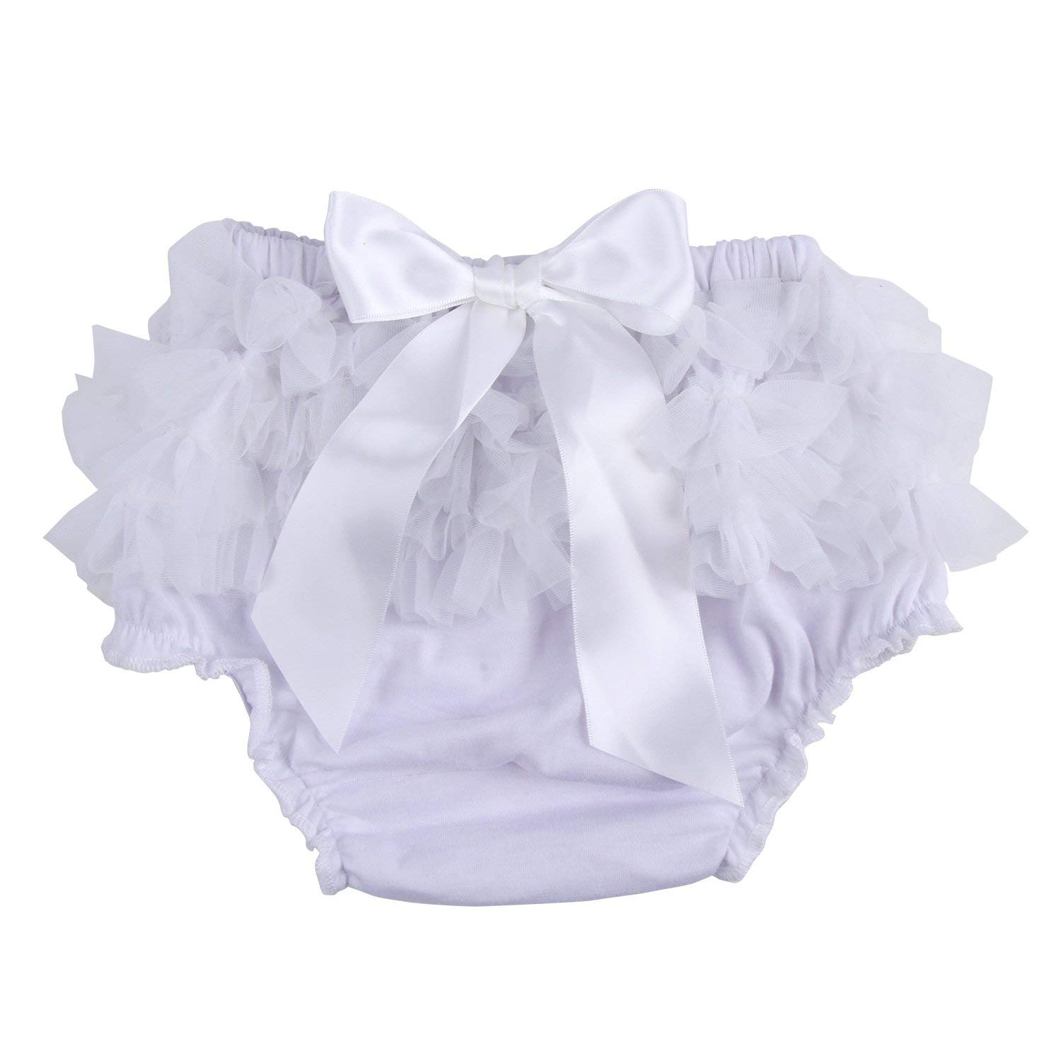 42da6640829a7 ICObuty Baby Girls Ruffle Bloomer Diaper Cover for Baby Girls Toddlers