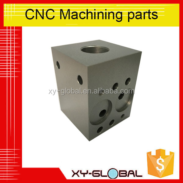 High precision Aluminum CNC machining parts with 5 axis