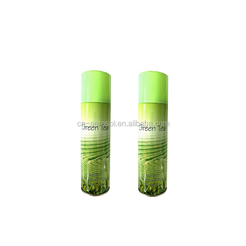 Il tè verde fragranza di profumo deodorante spray150ml