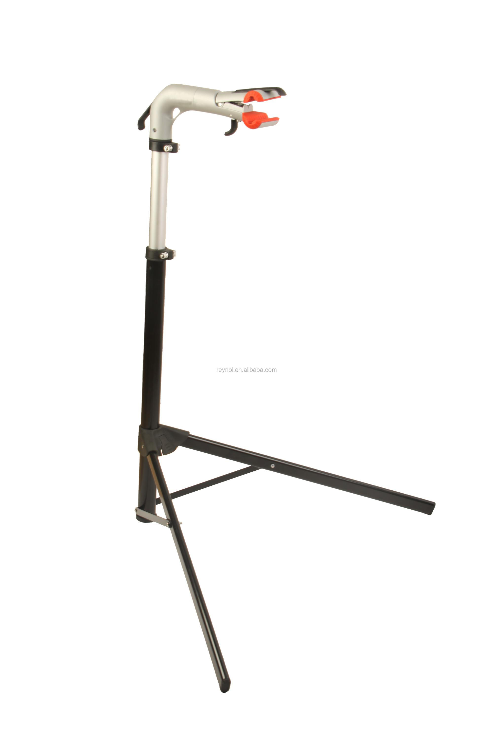 New design Aluminum Bike repair stand/rack with strong Alu. Die casting clamp