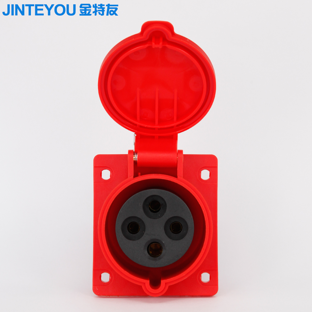 China Industrial Socket 380v Wholesale Alibaba Cee Connector 16a 32a 4p Ip44 Mainland Electrical