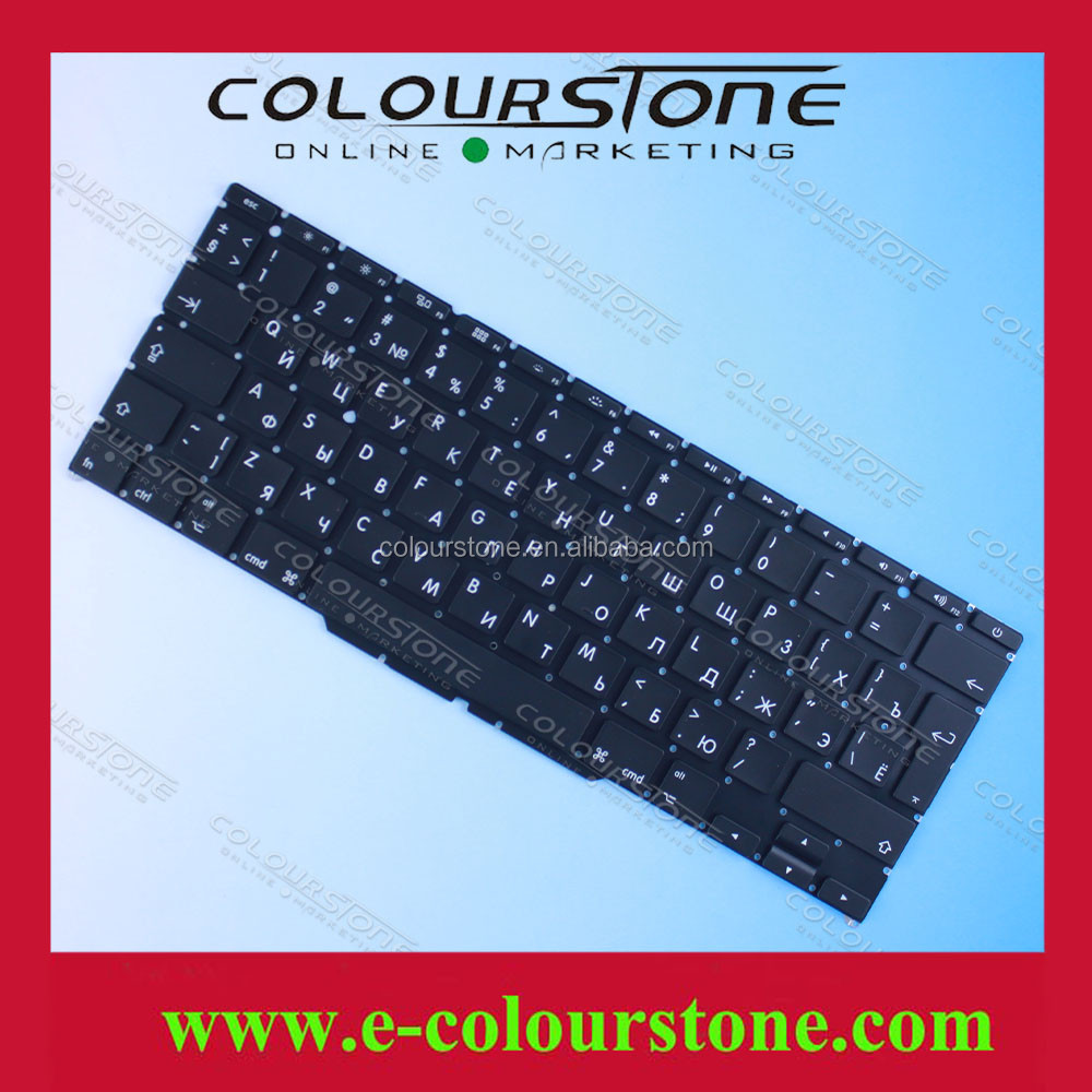 Popular fashion RU notebook keyboard for APPLE A1370 with Big Enter RU keyboard without frame