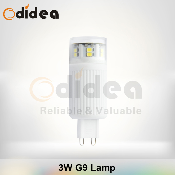 g9 socket 3000 kelvins led light