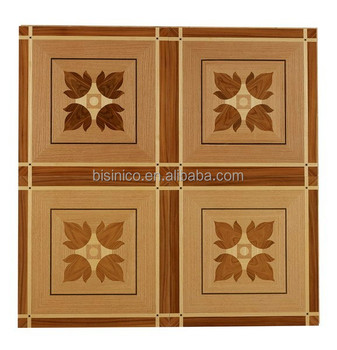 Antique Classic Flower Pattern Design Wood Block Floor Wood Veneer Inlay Floor Board Art Wood Parquet Flooring View Wood Designs Parquet Flooring