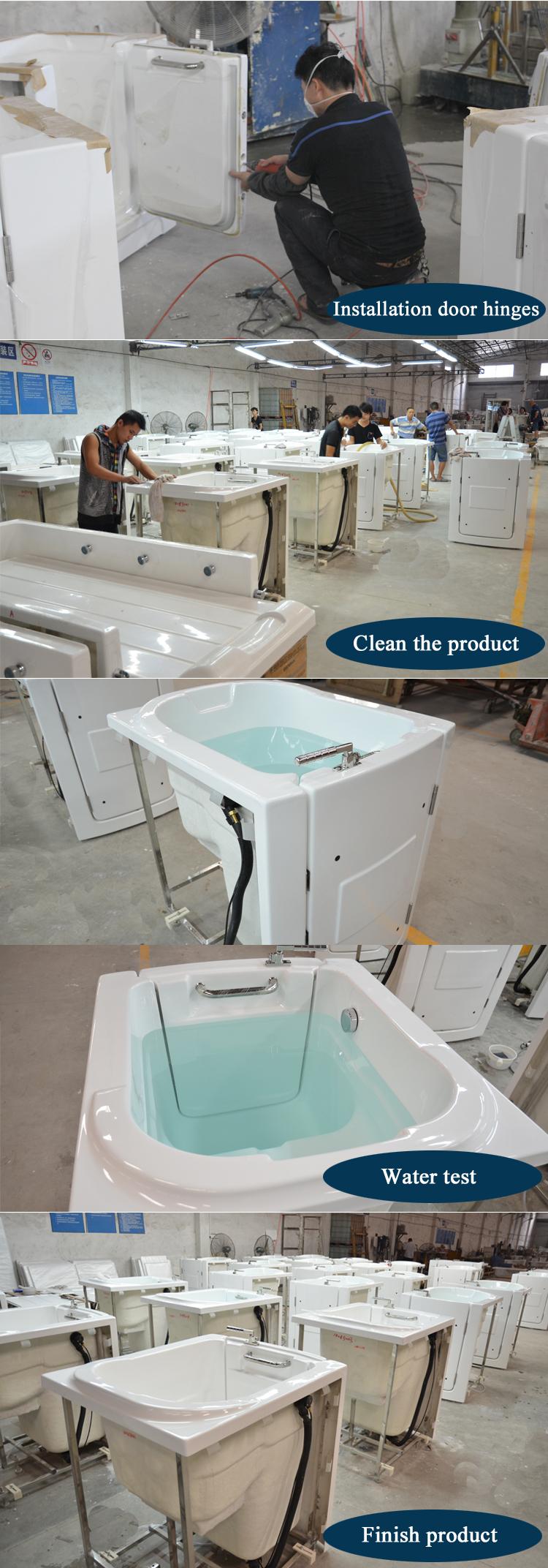 Hsbb Walk In Tub Shower Combo Shower Bath Combo Acrylic Tub - Acrylic shower tub combo