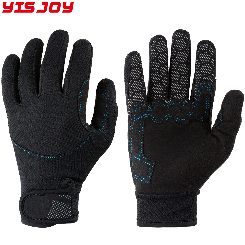 Custom good fisherman gloves neoprene fishing gloves