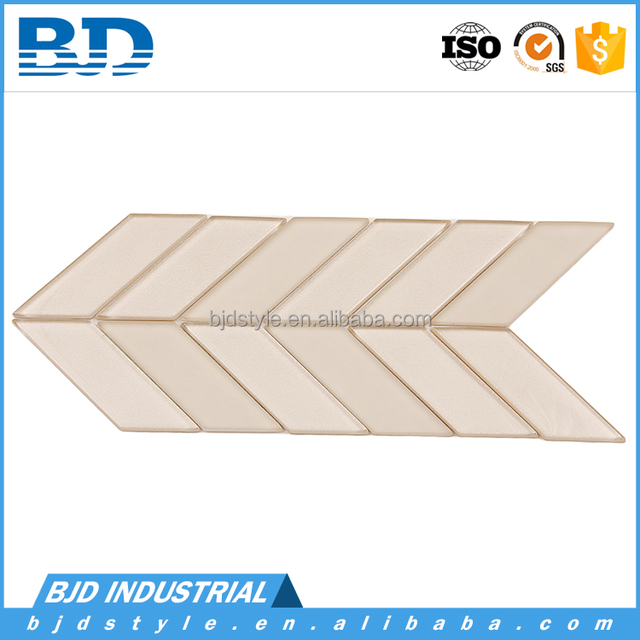 Bathroom and kitchen decorative ceramic wall and floor mosaic tile with glass Material
