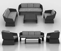 Used hotel furniture for sale / Bedroom furniture rattan sofa set for sale