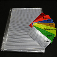 China supply pvc reflective flex banner self adhesive reflective vinyl sticker materials for inkjet media