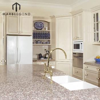Chinese Natural Decorative Kitchen Island Bain Brook Brown Granite Countertop