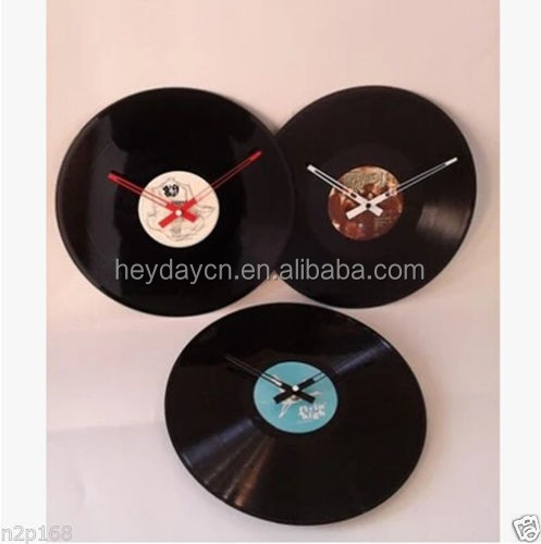 promotion vinyl record wall clock