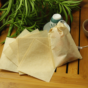 Natural wood pulp Heat Seal filter paper unbleached Tea Filter Bags
