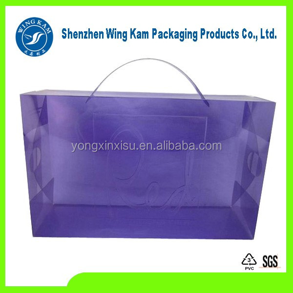 Custom apparel packaging poly mailer transparent plastic bag with high quality