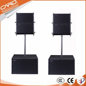 China manufacturer supply passive line array speakers system, speaker line array china,line array speakers
