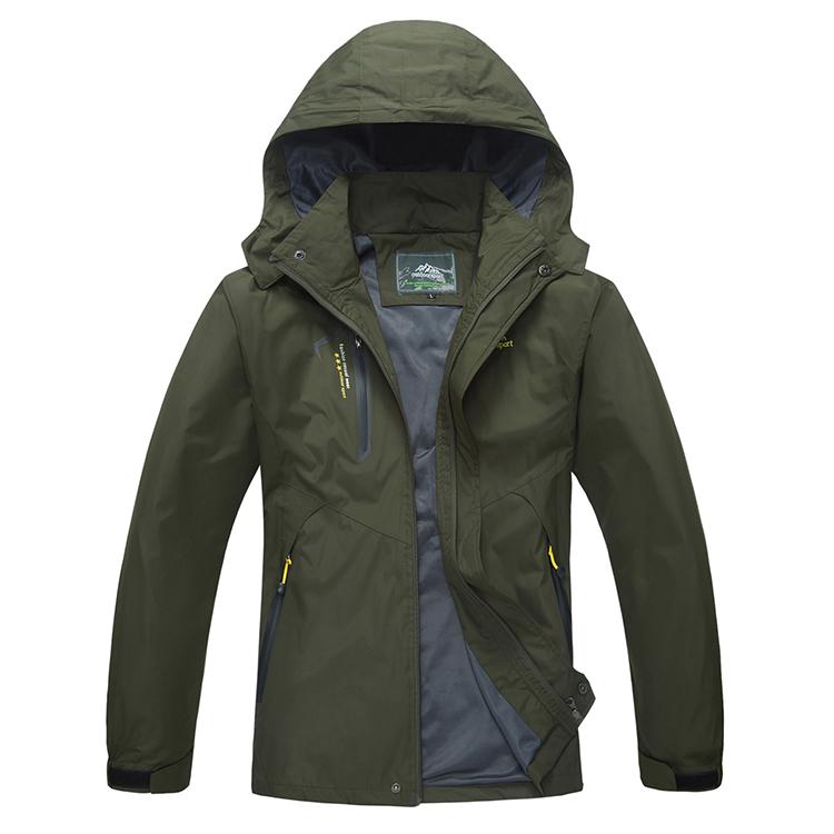 Custom Nylon Coach Waterproof Jacket 20000mm, Motocross Rain Jacket Men, Black;dark blue;lake blue;army green or customized color