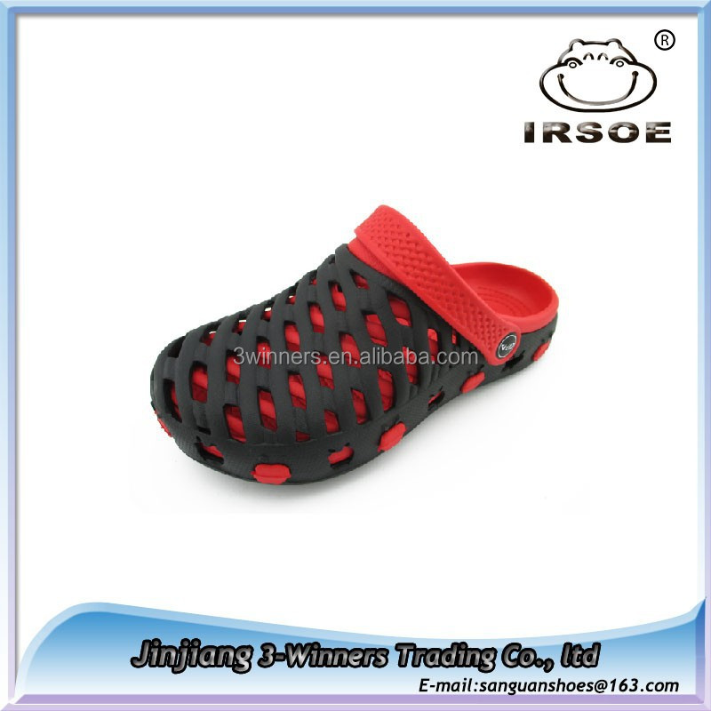 Latest arrival comfortable EVA childrens garden shoes colorful kids custom made new garden clogs