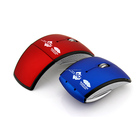2.4ghz wireless foldable computer mouse for laptop PC