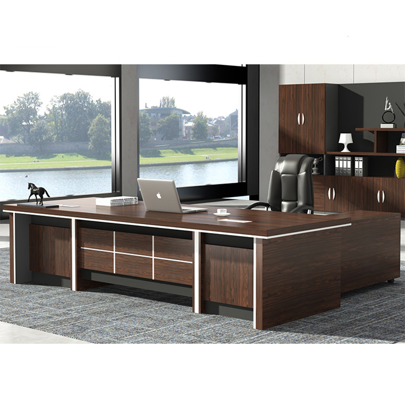 Luxury Big Boss Table Desk Design Home Office Desk Executive Office Desk  Executive Office Furniture, View office desk, Frank Tech Product Details  from