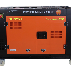 portable water cooled open type 10KW diesel generator