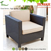 One People Best Relaxing Black Rattan Outdoor sofa furniture single sofa