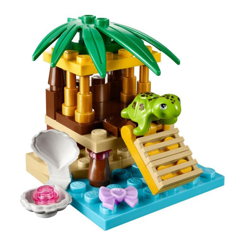 1pc Sea Turtle Oasis Island Mini Figure Kid Baby Toy Building Blocks Sets Model Toys Minifigures