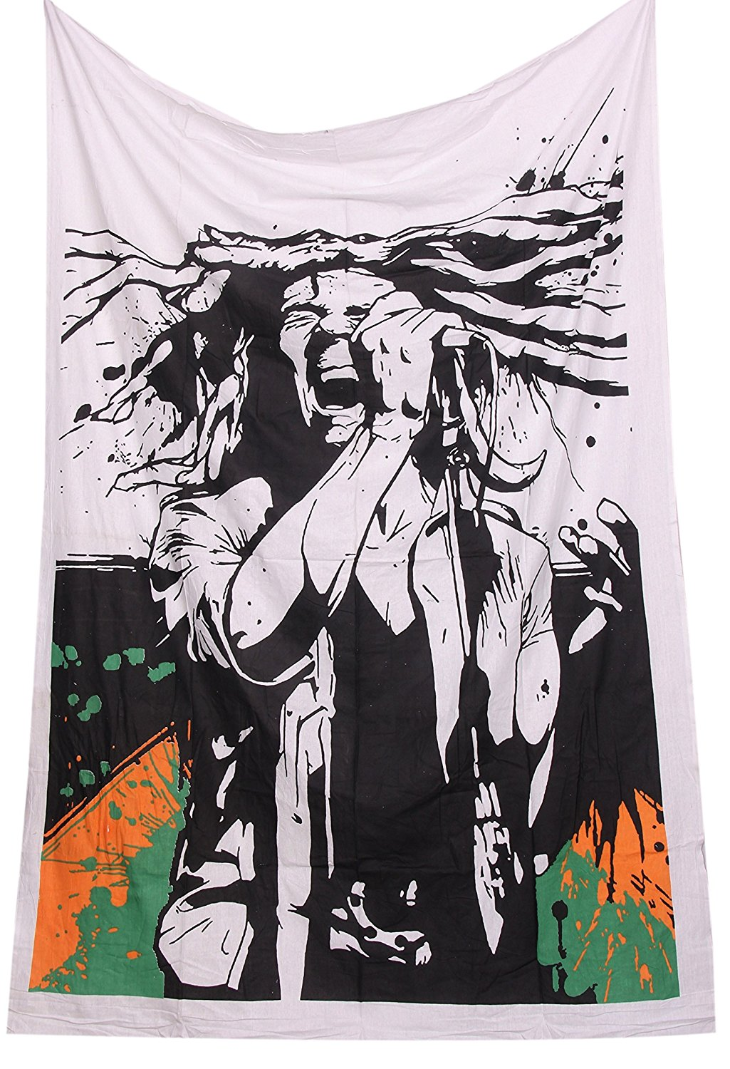 ONE LOVE Bob Marley Tapestry Wall Hanging Rasta, Reggae Tapestries and wall hangings hippy hippie Tapestry Beach Cotton Cotton Dorm Decor