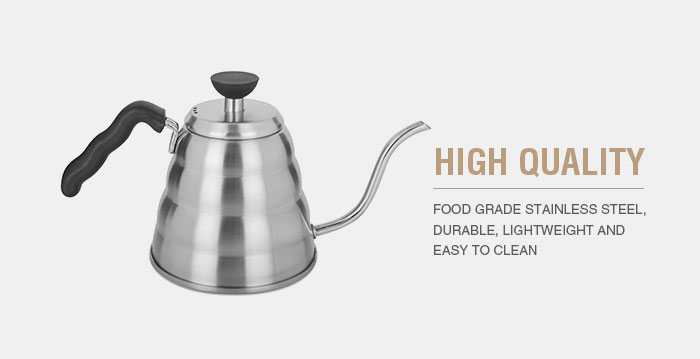 Premium Quality coffee kettle pot gooseneck pour over drip pot for coffee & tea stainless steel coffee kettle