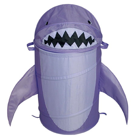 Cute Shark Animal Pop Up Hamper Animal Shape Laundry Hamper