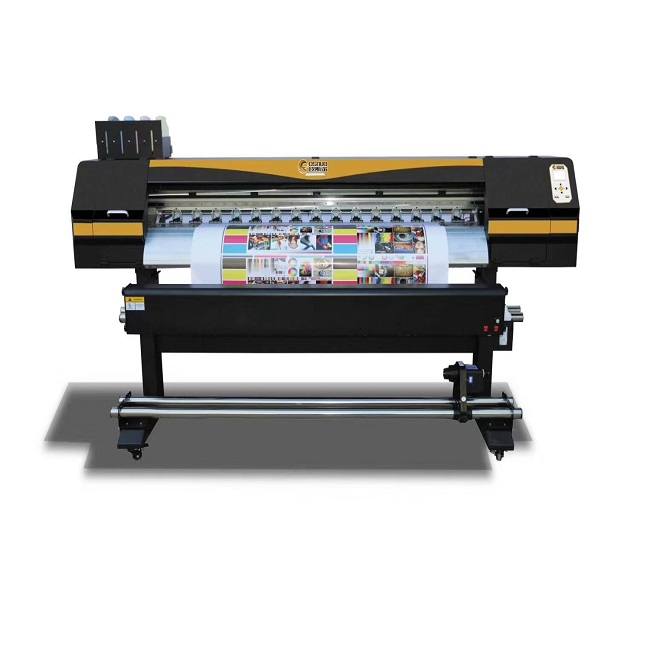 OSNUO 1700 s Eco Solvent Printer Digitale Inkjet Printing Machine