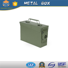 portable metal ammunition box wholesale ,can put many thing with high quality