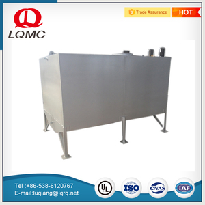 10000 liter square hot dipped galvanized oil storage carbon steel tank