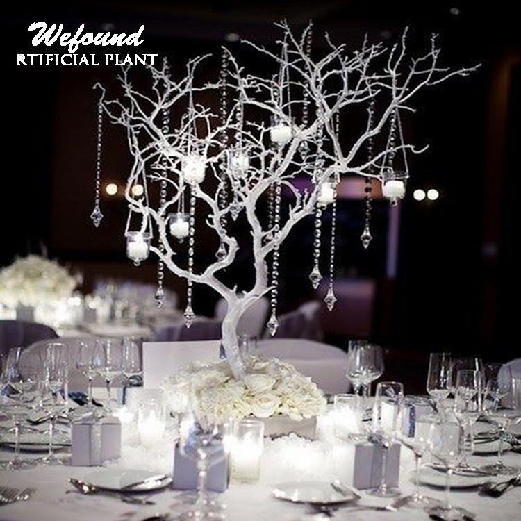 White Tree Branch Artificial Manzanita For Wedding