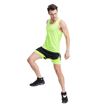 Custom black dry fit sports shorts wholesale running shorts