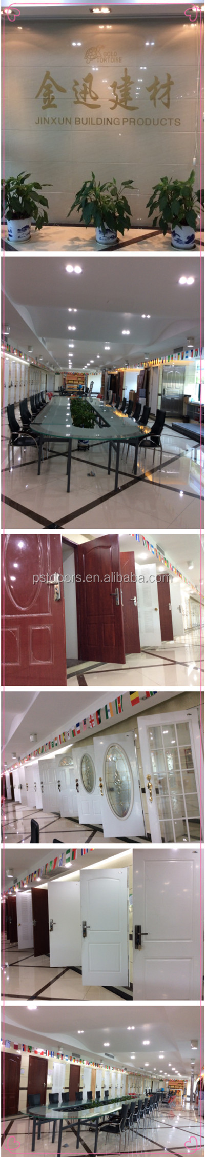 Half Lite Tempered Glass Kit for Door ,Door Glass Frame