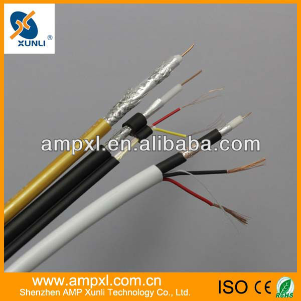 CCTV CABLE RG59 128 BRAID INTEGRATED CABLE