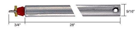"C.R. LAURENCE FJ2820 CRL 28"" Tubular Spiral Non-Tilt Window Balance Red Bushing"