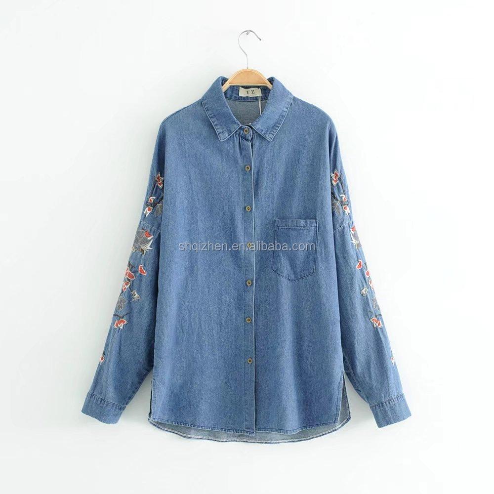 Chemise Jean Longue avec grossiste chemise jean longue femme-acheter les meilleurs chemise