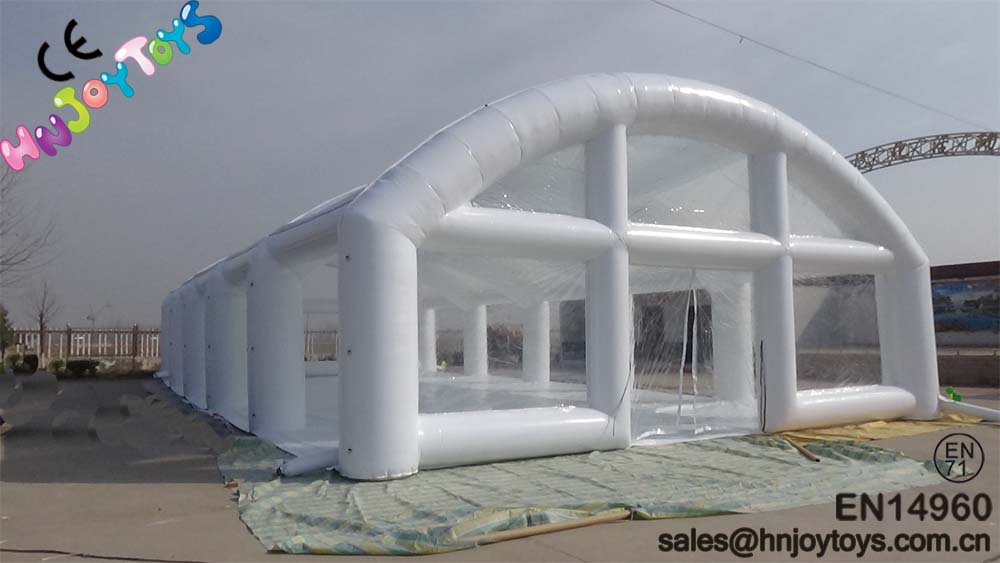 White inflatable marquee, giant inflatable tent for sale