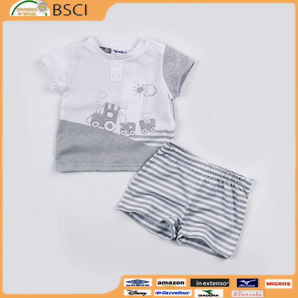 Clothing Sets Kids Clothes Suit Children Short Sleeve boutique set