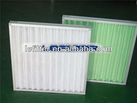Non-woven Galvanized frame Air Panel Filter G4