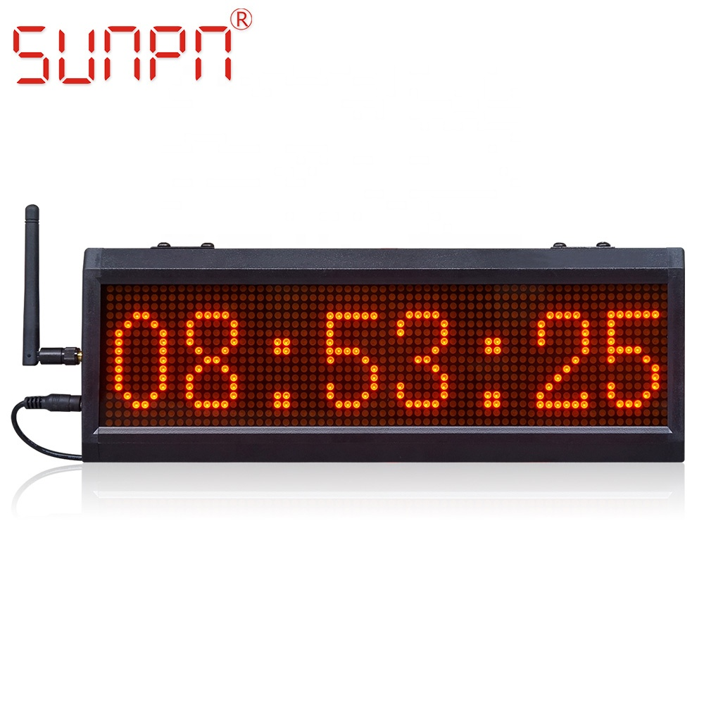 Digital 1.8/'/' LCD Display Magnetic Kitchen Counter Gym Run Magnet Timer