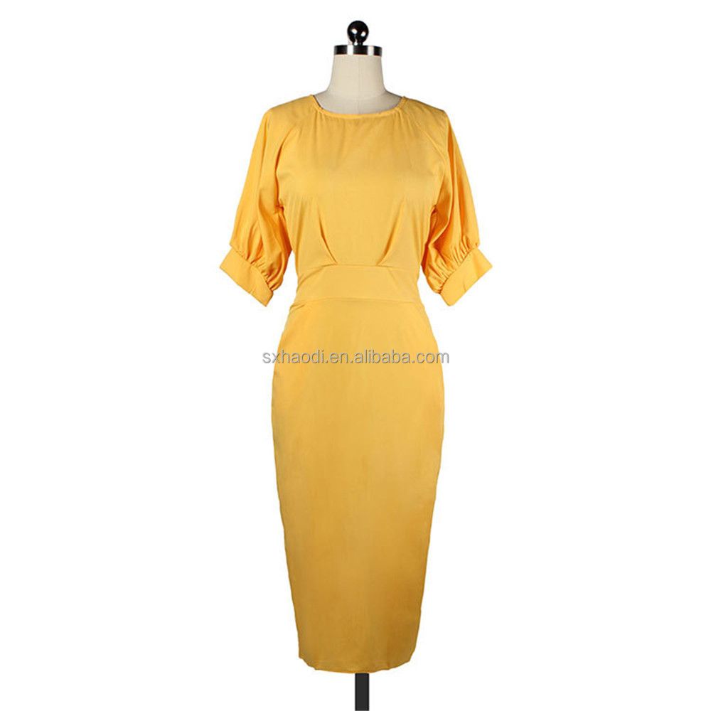 OEM Custom-made China supplier women fashion dress bodycorn casual dress