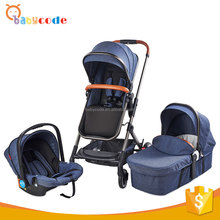 2018 wholesale 3 in 1 aluminum alloy baby car baby buggy stroller
