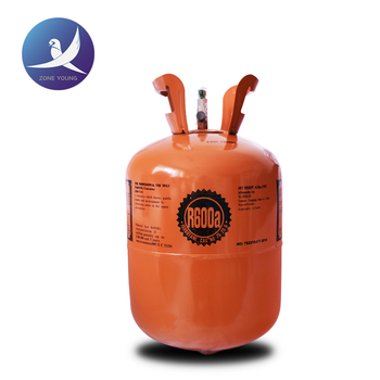 CE cylinder R600a refrigerant gas used as the high grade light gas 11.1kg/cylinder