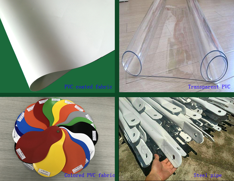 Guangzhou Steel Frame PVC Fabrtic Geodesic Dome Tent Camping