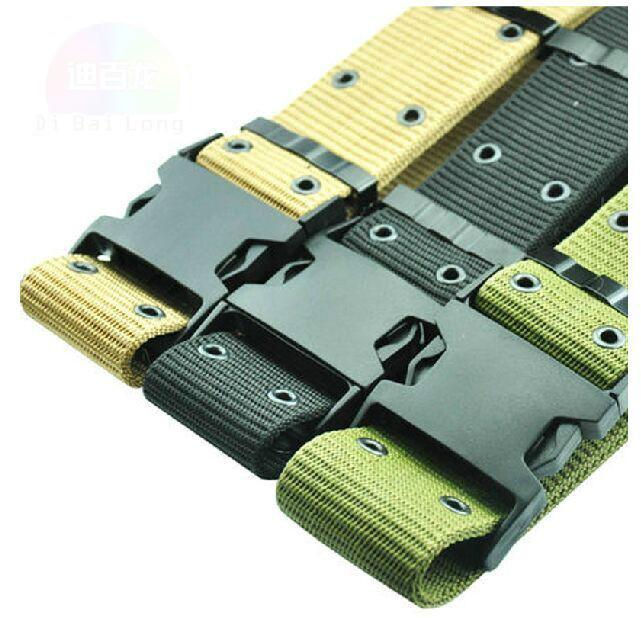 FCNHXJ Belt Male Army Tactical Belt Mens Military Waist Canvas Belts Strap