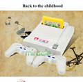 Subor D31 TV game console Double handle nostalgic Video Game Consoles Free electronic gun 7 games