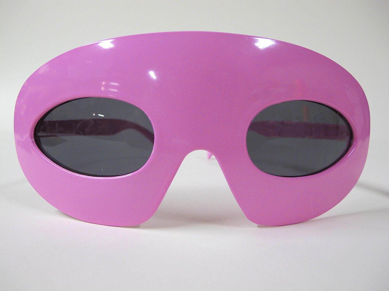 a84b4912e18 TwiceBooked Pink Princess Super Hero Mask Sunglasses - 1 Pink SuperHero  Costume Masks