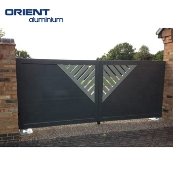 China supplier good quality aluminium gate main gate designs